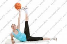 Студийная фотосессия на тему спорта, зож и балета
