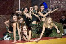 Репортажная съемка выступления танцевальной студии к 23 февраля