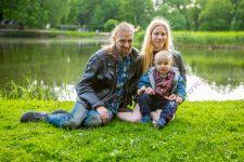 Семейная фотосессия в Таврическом саду