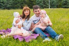 Семейная фотосессия в паркет 300-летия