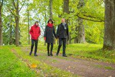 Осенняя семейная фотопрогулка в парке Ораниенбаум