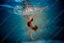 Детская подводная фотосессия