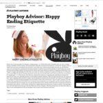 Фотография c TFP фотосессии на сайте журнала Playboy