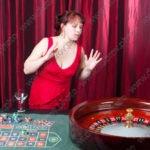 Студийная фотосъёмка в интерьере казино