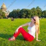 Портретная фотосессия в историческом центре Санкт-Петербурга (СПБ)