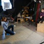 Студийная съёмка мужского портрета