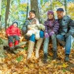 Осенняя фотосессия на природе
