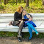 Семейная фотосессия на открытом воздухе в парке