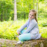 Детская фотосессия на открытом воздухе