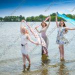 Семейная фотосессия на берегу Финского залива