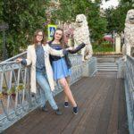 Уличная фотосессия в центре вечно дождливого Петербурга