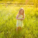 Детская летняя фотосессия в парке