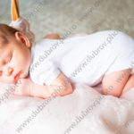 Домашняя фотосессия для новорожденной