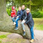 Семейная осенняя фотопрогулка по Крестовскому острову