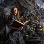 Студийная фотосессия на тему Хэллоуина
