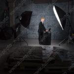 Мужская портретная фотосессия в деловом образе