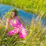 Летняя портретная фотосессия у воды