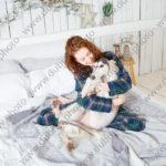 Студийная фотосессия с любимой собакой